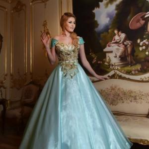 שמלת נסיכה תכלת | שמלות ערב 2016 - 1 (1)